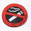 Selvklæbende skilt - Rygning forbudt Ø5cm