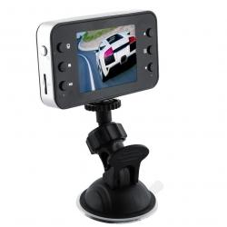 """Bilkamera m/videooptager DVR 2,5"""" LCD"""